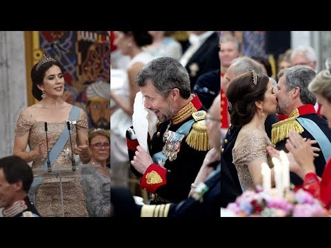 Crown Princess Mary to her husband I am so happy that you swept me off my feet