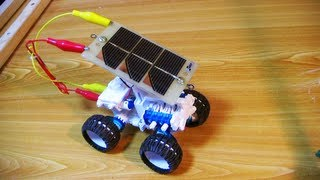 4W-Drive Educational Salt & Solar Powered Car