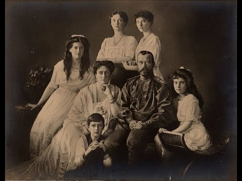 El Asesinato De Los Romanov La Familia Real Rusa.