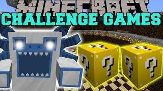 Minecraft: MUTANT YETI CHALLENGE GAMES - Lucky Block Mod - Modded Mini-Game