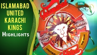 Match 22: Islamabad United vs Karachi Kings - Highlights