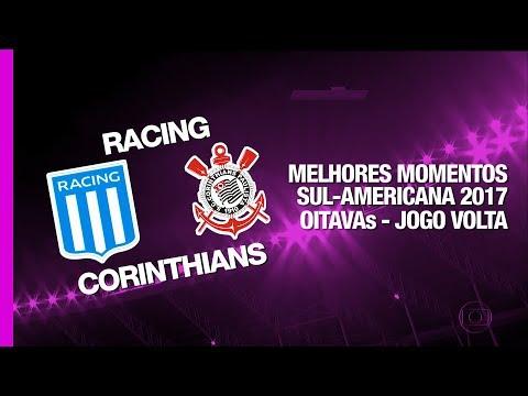 Melhores Momentos - Racing 0 x 0 Corinthians - Sul-Americana - 20/09/2017