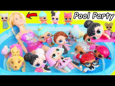 Xxx Mp4 LOL Surprise Dolls Lil Sisters Barbie Play Video With Hatchimals 3gp Sex