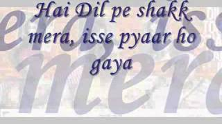 Abhi Kuch Dino Se [Lyrics]