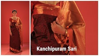 Kanchipuram Saree| How to wear in Coorg Style| Indian Sari draping Tutorial