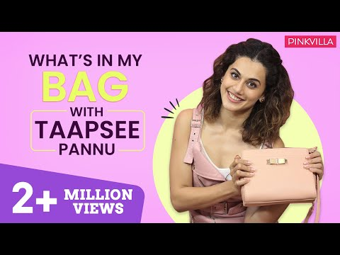 Xxx Mp4 What S In My Bag With Taapsee Pannu S03E04 Fashion Bollywood Pinkvilla 3gp Sex