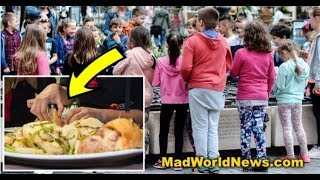 PARENTS HORRIFIED BY SICK THING MUSLIMS FORCED STUDENTS TO EAT IN SCHOOLS!