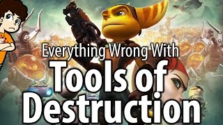 Everything Wrong With Ratchet and Clank: Tools of Destruction - valeforXD