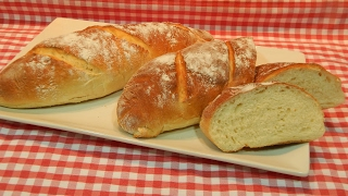 Receta fácil de pan blando de patata