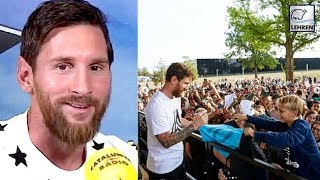 Lionel Messi Revealed That Defeat Is Not For Discussion For Him & His Son