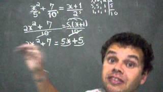 equações do 2º grau com frações ph