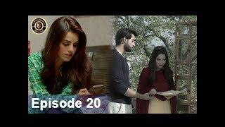Rasm-e-Duniya - Episode 20  -  8th June 2017 - Armeena Khan & Sami khan Top Pakistani Dramas