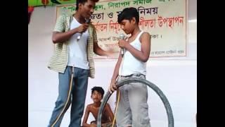 Bangla Natok Shishu Nirjaton by T.A. High School
