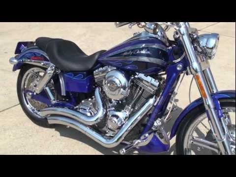 HD VIDEO 2008 HARLEY DAVIDSON DYNA SCREAMIN EAGLE FXDSE2 MOTORCYCLE FOR SALE SEE WWW.SUNSETMILAN.COM
