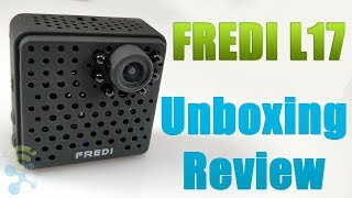 FREDI L17 Wifi Mini Wireless Small 1080p HD Portable Camera with Night Vision : Unboxing & Review