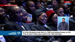 Ambassador Sandile Nogxina pays tribute to Zola Skweyiya