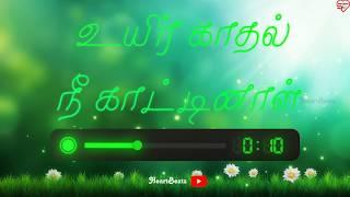 Unnale Uyir Vazhgiren💞   Poo Nee Poo Song 🎵  Whatsapp Status   Moonu   HeartBeatz❤