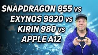 Snapdragon 855 vs Exynos 9820 vs Kirin 980 vs A12 (Initial Analysis)