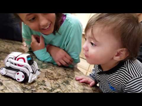 ROBOT SAVES BABY FROM FIRE COZMO Playtime Artificial Intelligence Super Computer FUNnel Vision Fun