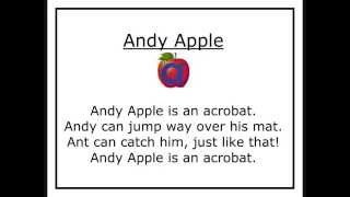 Alphafriends: Andy Apple