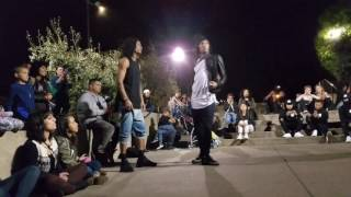 Les Twins in SF Freestyling - Drinks Up in the Air