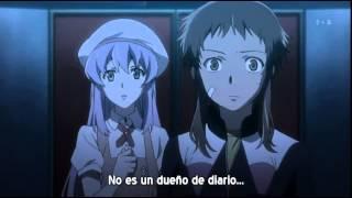Mirai Nikki cap 9  (1/2) sub español