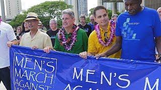 UH President Lassner honored at Men