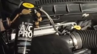 How to Recharge Your Car AC with AC Pro