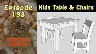 RWW198 Kid's Table & Chairs