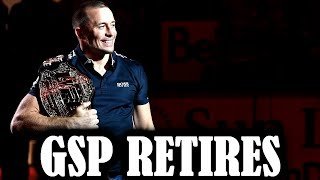 GSP Finally Retires...but what about the Khabib fight?