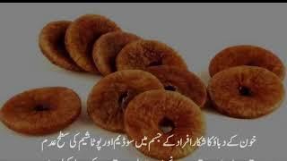 Angeer Ke Faide   Health Benefits Of Figs Or Anjeer In Urdu   انجیر کے فوائد
