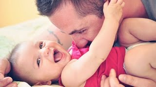 Best Of Cute Baby And Daddy Moments  - The Cutest Thing Ever In The World