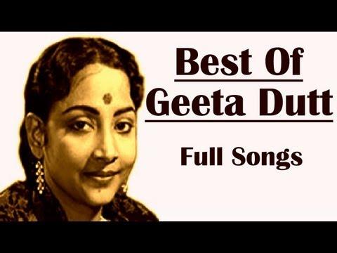 Best Of Geeta Dutt | Babuji Dheere Chalna | Audio Jukebox