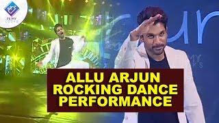 Allu arjun rocking dance performance || sarainodu audio success function || Rakulpreeth singh ||