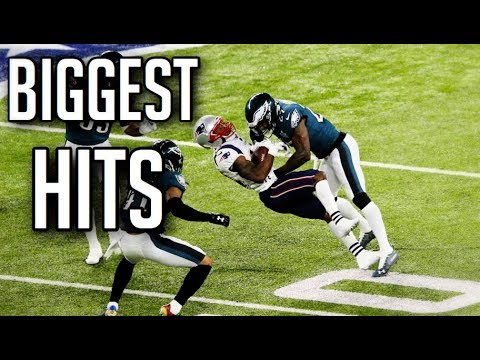 Biggest Hits In Football History HD