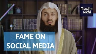 Fame On Social Media   Mufti Menk