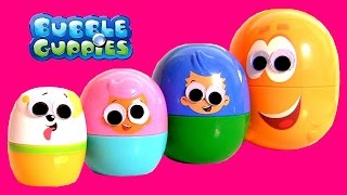 Bubble Guppies Stacking Cups Surprise Eggs Googly Eyes Disney Ojos Saltones Huevos Sorpresa
