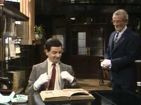 Mr. Bean - The Library