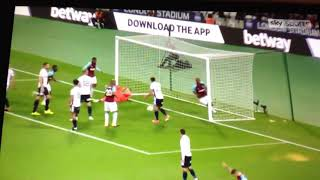 West Ham 3-0 Bolton   All Goals And Highlights