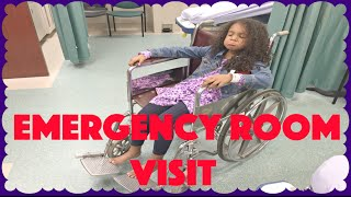 EMERGENCY ROOM VISIT ~ X-RAY, WHEELCHAIR, CRUTCHES Oh my! Family Vlog
