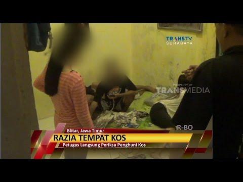 Razia Tempat Kos Blitar, Jawa Timur