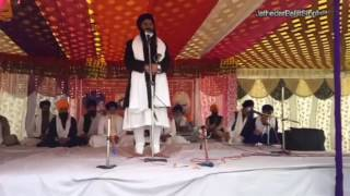 Jathedar Baljit Singh Khalsa Daduwal speech at Damdami Taksal Ajanala 16 February 2017