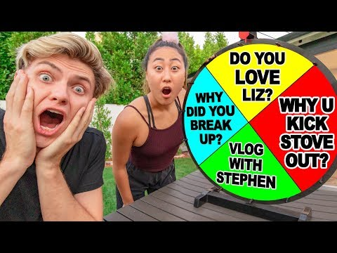 ANSWERING EMOTIONAL QUESTIONS WITH MY EX GIRLFRIEND awkward