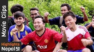 CRICKET - Kathmandu Vs. Biratnagar | New Nepali Movie CHAMPION Scene