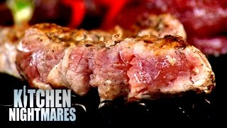 Gordon Disgusted At Deadly Barbecue Meat!   Kitchen Nightmares