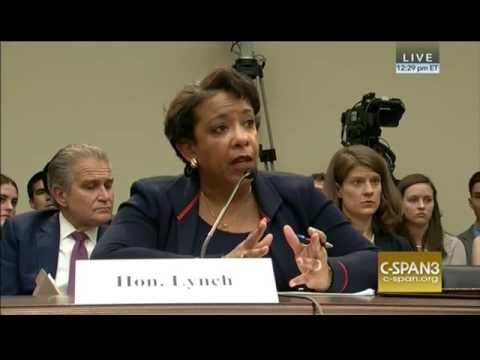 CSPAN:  Chaffetz Questions AG Loretta Lynch, 7/12/16