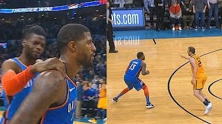 Paul George Shocks Entire Crowd With Game Winner After Taking Over vs Jazz! Thunder vs Jazz