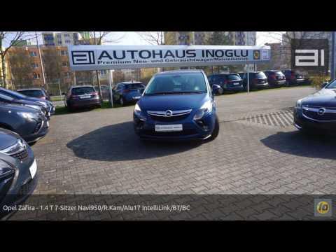 Opel Zafira - 1.4 T 7-Sitzer Navi950/R.Kam/Alu17 IntelliLink/BT/BC