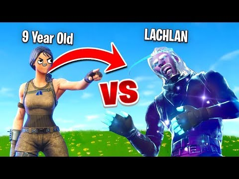 So a 9 Year Old Challenged me to a 1v1 In Fortnite