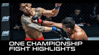 ONE: Iron Will Fight Highlights – Bibiano Fernandes Retains His Title